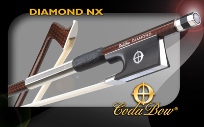 CodaBow DIAMOND NX Carbon Geigenbogen