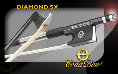 CodaBow DIAMOND SX Carbon Geigenbogen