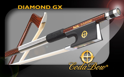 CodaBow DIAMOND GX carbon Bratschenbogen